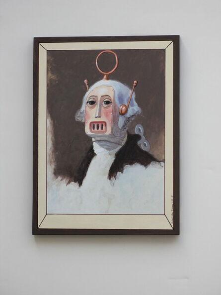 Ralph Allen Massey, 'George (after Gilbert Stuart)', 2018