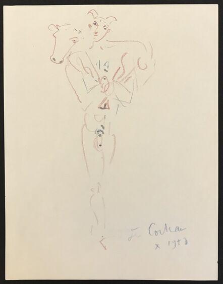 Jean Cocteau, 'Le Porteur de Brebis (Shepherd Bearer)', 1958