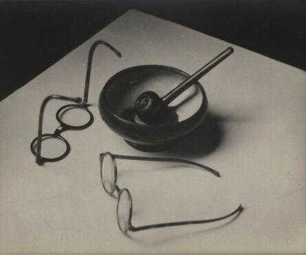 André Kertész, 'Mondrian's Pipe and Glasses', 1926