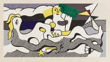 Roy Lichtenstein, 'At the Beach, from Surrealist series', 1978