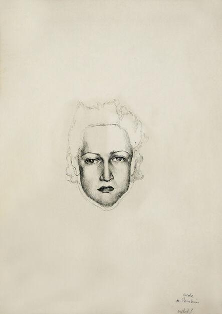 Hedda Sterne, 'Selfportrait'