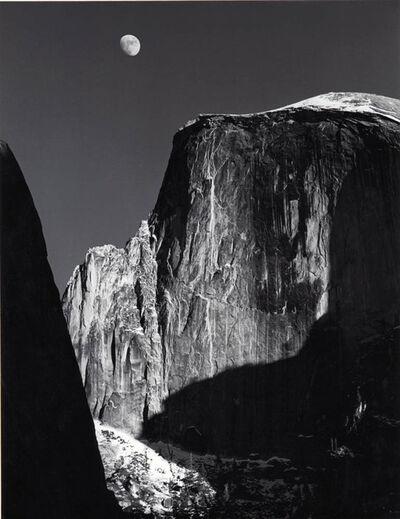Ansel Adams, 'Moon and Half Dome'