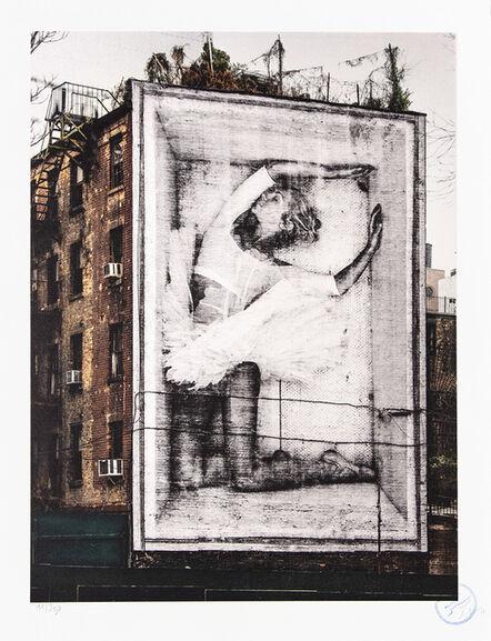 JR, 'Ballet, Ballerina in Crate, East Village, New York City, 205', 2019