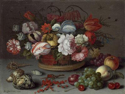 Balthasar van der Ast, 'Basket of Flowers', ca. 1622