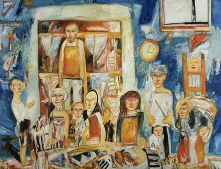 John Bellany, 'Finnan Smokers', 1992