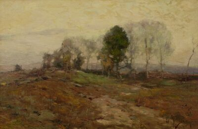 Chauncey Ryder, 'Road to Francistown', ca. 1910