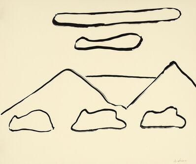 Etel Adnan, 'Montagnes 6', 2015
