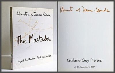 Christo and Jeanne-Claude, 'The Mastaba Project for United Arab Emirates (Hand Signed by Artist)', 2007