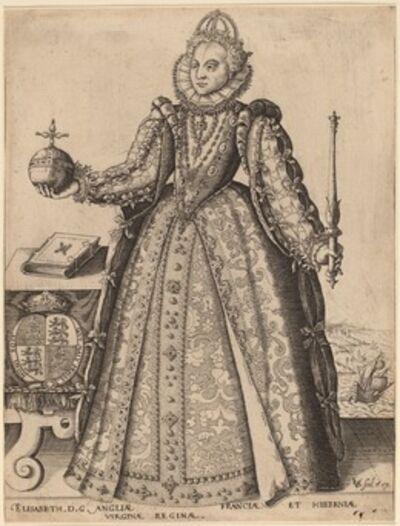 Christoffel van Sichem I, 'Elizabeth, Queen of Great Britain', published 1601
