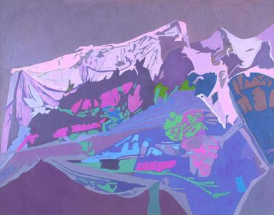 Ralph Wickiser, 'Purple Net', 1994