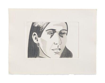 Alex Katz, 'June Ekman's Class: June', 1972