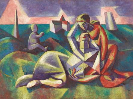 Alfred Wickenburg, 'Rinaldo and Armida', 1923