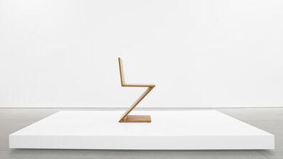 Gerrit Thomas Rietveld, 'Zig-Zag Chair', ca. 1969