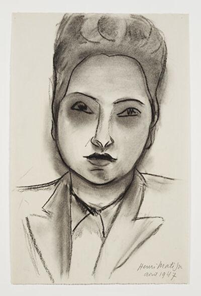 Henri Matisse, 'Head of a woman', 1947