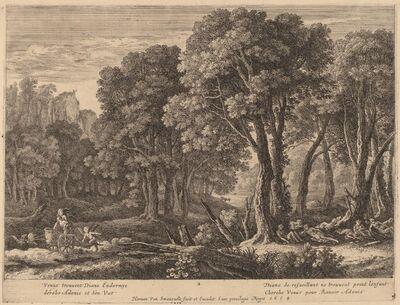 Herman van Swanevelt, 'Venus Abducting Adonis'