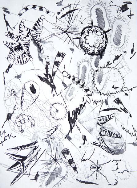 Anaïs Senli, 'Filamentous growth 7', 2018