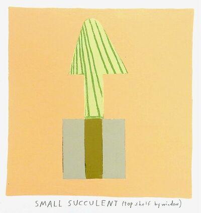 Kristin Texeira, 'small succulent', 2017