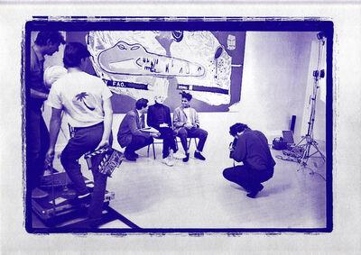 Jean-Michel Basquiat, 'Warhol Basquiat Collaborations (vintage announcement) ', 1988