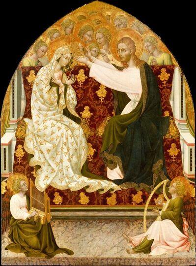 Giovanni di Paolo, 'Coronation of the Virgin', ca. 1455