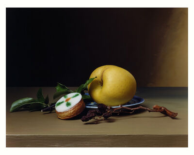 Sharon Core, 'Early American, Still Life with Cake', 2008