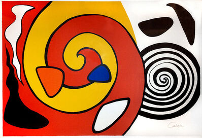 Alexander Calder, 'Escargot', 1976