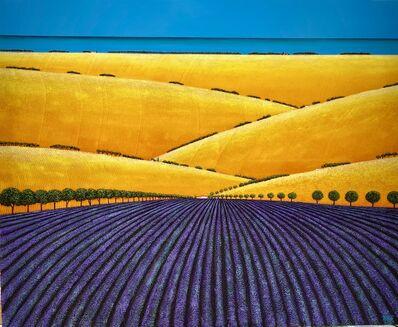 Ronnie Ford, 'Rhythms of Summer Crops', 2021
