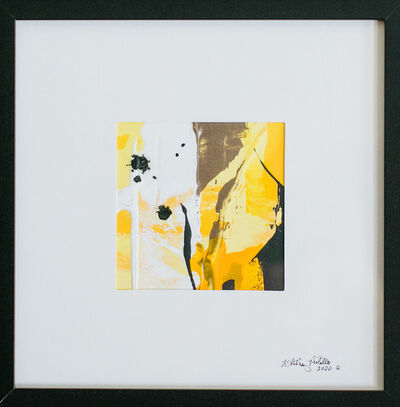 Whitney Pintello, 'She Likes Yellow No. 7- Gestural Contemporary Abstraction ', 2020
