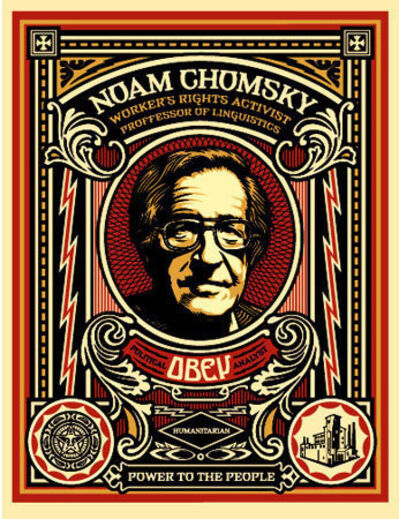 Shepard Fairey, 'Noam Chomsky', 2004
