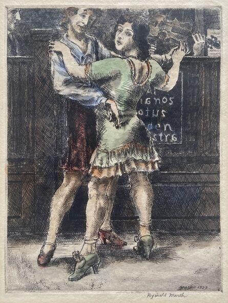 Reginald Marsh, 'Chop Suey Dancers #1', 1929