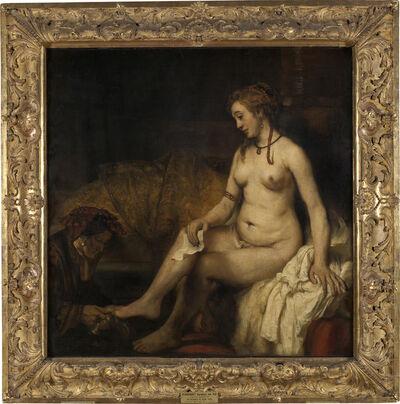 Rembrandt van Rijn, 'Bethsabée au bain tenant la lettre David (Bathsheba at Her Bath)', 1654