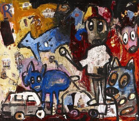 Aboudia, 'Untitled', 2011