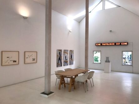 Timm Ulrichs, 'EINE TAUTOLOGIE IST EINE TAUTOLOGIE IST EINE ...', 1969/70-2018