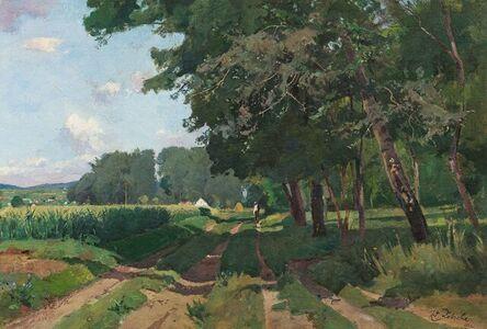 Eduard Zetsche, 'Summer's day in Kamptal', 1922