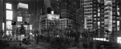 Matthew Pillsbury, ' Above Times Square, New Years Eve, From the Marriott Marquis, New York', 2012