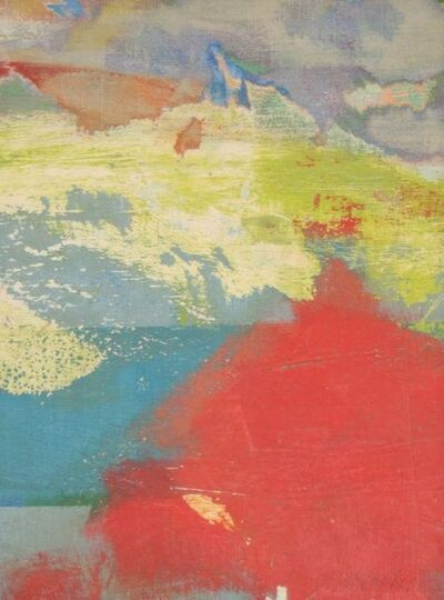 Carl Holty, 'Untitled Abstraction (Red and Blue)', ca. 1960