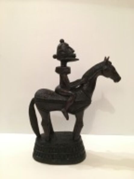 Ibou N'Diaye, 'Dogon Horseman', 2017