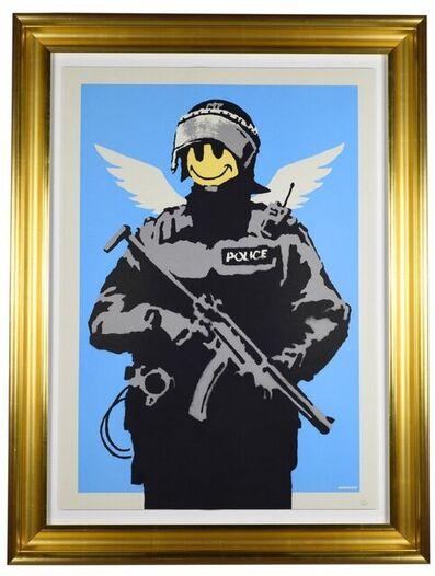 Banksy, 'Flying Copper', 2004