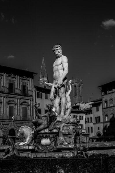 Juan Pablo Castro, '  Firenze, Black and white limited ed print.', 2016