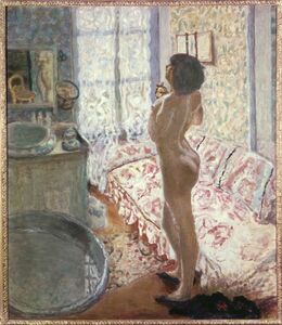 Pierre Bonnard, 'Standing Nude'