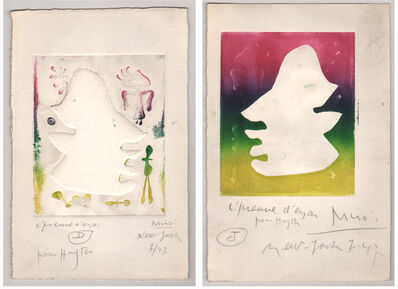 Joan Miró, 'L' Antitete ', 1947-1948