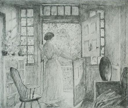 Childe Hassam, 'The Dutch Door', 1915