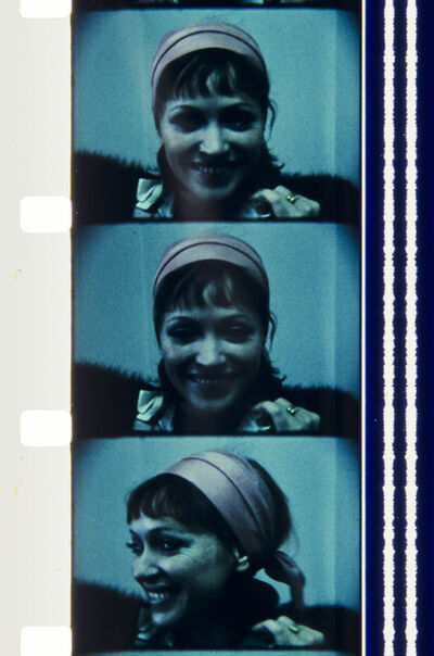 Jonas Mekas, 'Anna Karina, Dec. 27, 1973, NYC', 2013