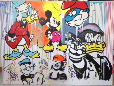 Clem$, 'Shake Cartoon ', 2017