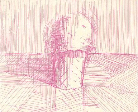 Wayne Thiebaud, 'Pink Cone', 1995/2011