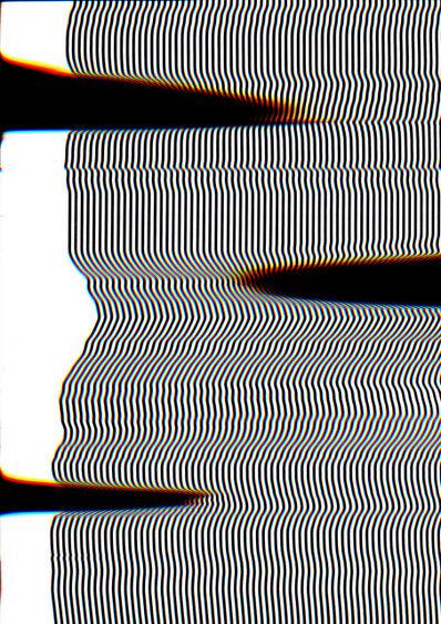 Carsten Nicolai, 'scan distortion 5', 2016