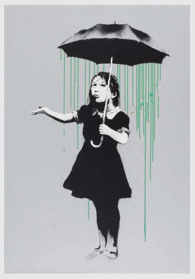 Banksy, 'Nola (Green Rain) - AP', 2008