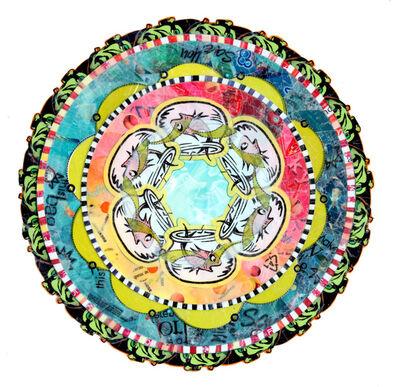 Virginia Fleck, 'Uh-Oh Fish Mandala', 2013