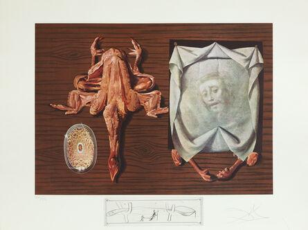 Salvador Dalí, 'Sputniks Polished by Statistical Maggots (Les Spoutniks Astiqués d'Asticots)', 1971