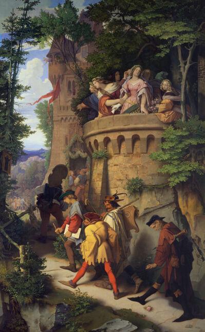 Moritz von Schwind, 'The Rose', 1846-1847