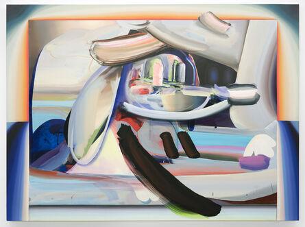 Raychael Stine, 'Three Rainbow River Jammers with Orange and Blue', 2017